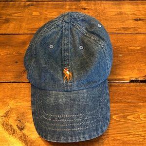 Polo Ralph Lauren Classic Denim Adjustable Hat